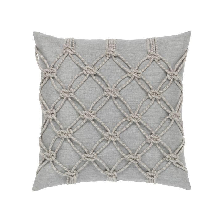 Elaine Smith Granite Rope Throw Pillow