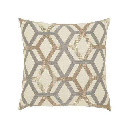 Elaine Smith Lustrous Lines Throw Pillow
