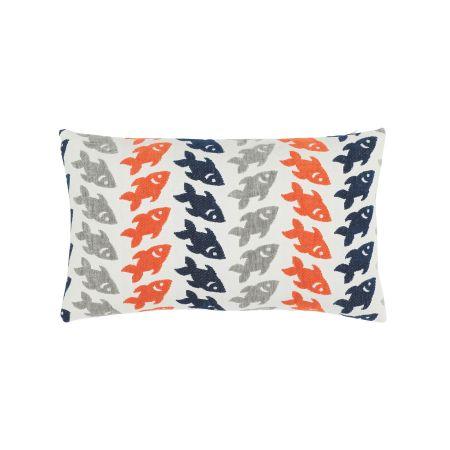 Elaine Smith Oceana Marine Lumbar Pillow