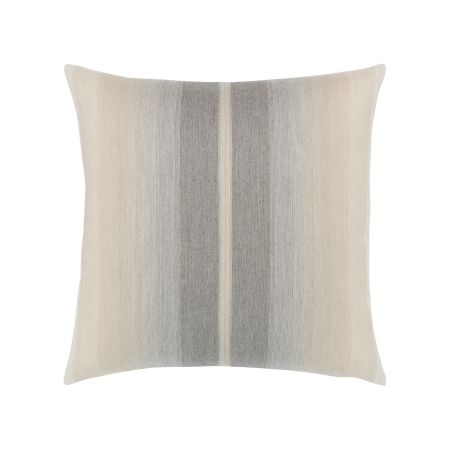 Elaine Smith Ombre Grigio Throw Pillow
