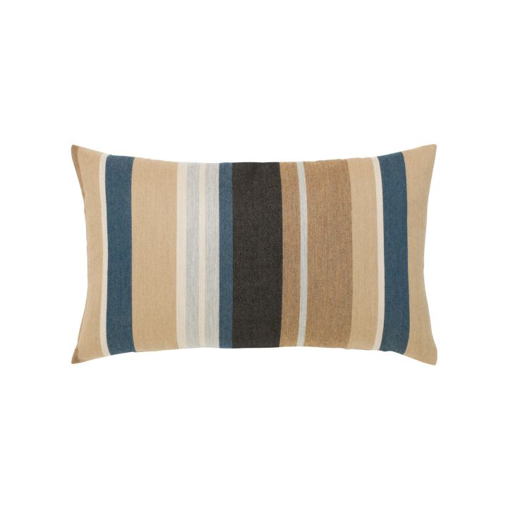 Elaine Smith Passage Stripe Lumbar Pillow