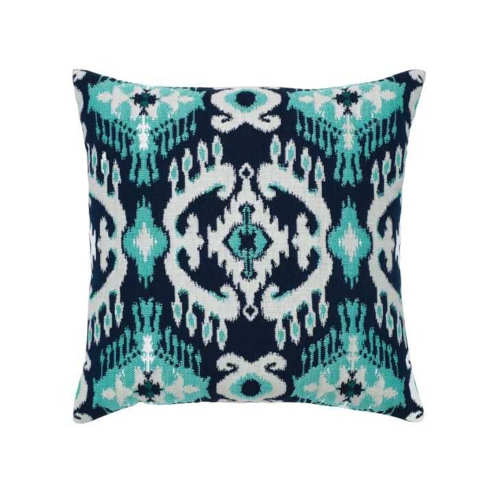 Elaine Smith Patras Ikat Throw Pillow