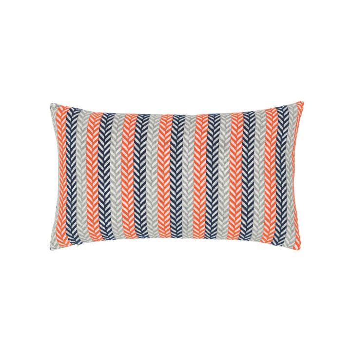 Elaine Smith Plush Plume Marine Lumbar Pillow