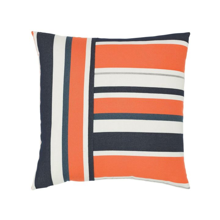 Elaine Smith Riviera Stripe Throw Pillow