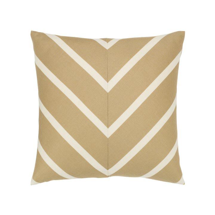 Elaine Smith Shine Chevron Throw Pillow