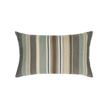 Elaine Smith Spa Multi Stripe Lumbar Pillow