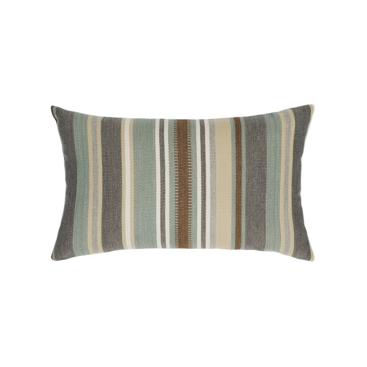 Elaine Smith Spa Multi-Stripe Lumbar Pillow