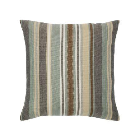 Elaine Smith Spa Multi Stripe Throw Pillow
