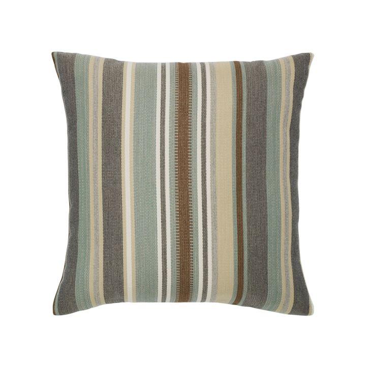 Elaine Smith Spa Multi-Stripe Throw Pillow
