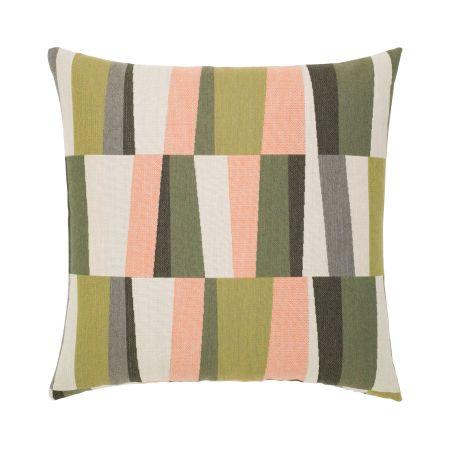 Elaine Smith Strata Fern Throw Pillow