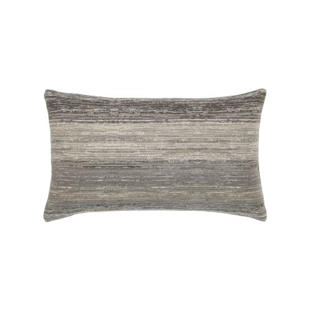 Elaine Smith Textured Grigio Lumbar Pillow