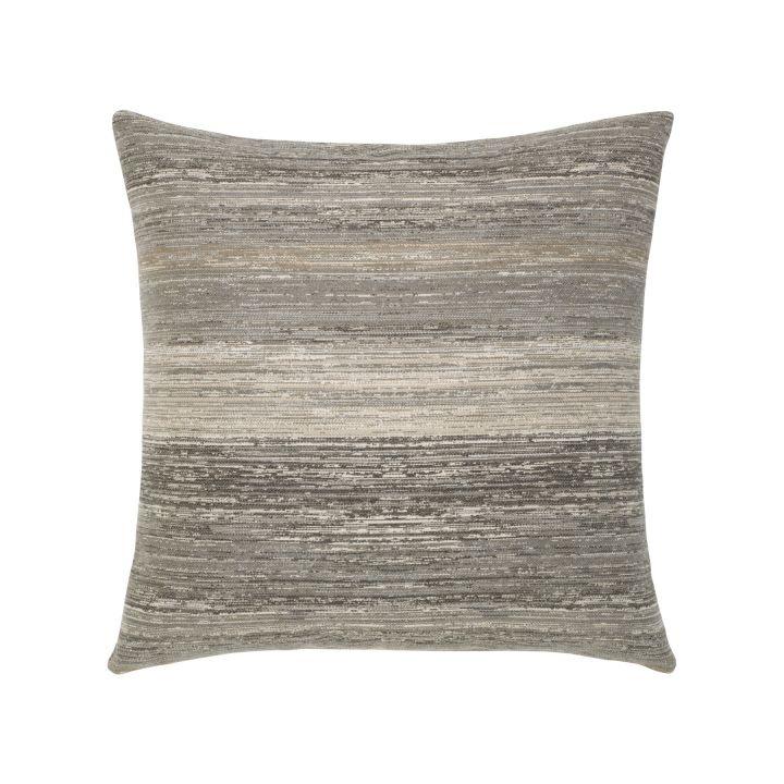 Elaine Smith Textured Grigio Throw Pillow