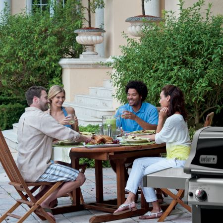 Entertaining With The Weber Spirit E-310 Gas Grill