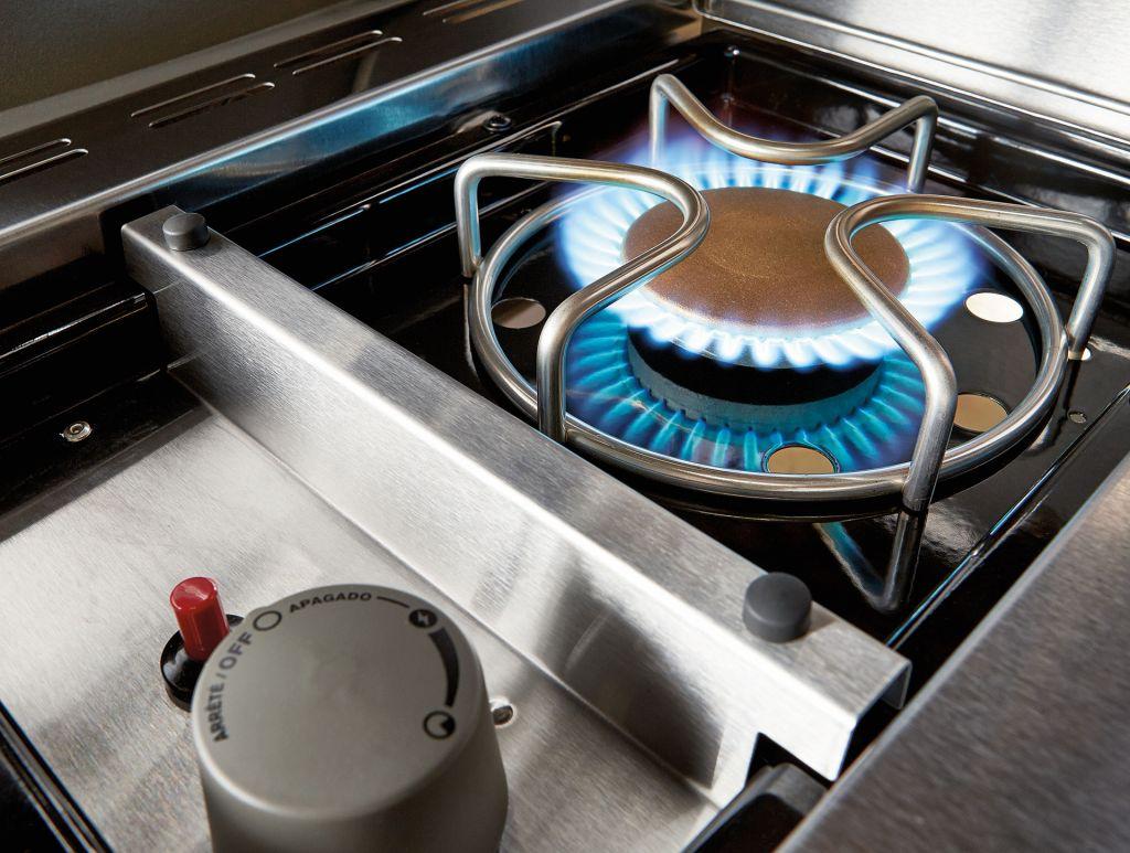flush mounted side burner on weber summit gas grills