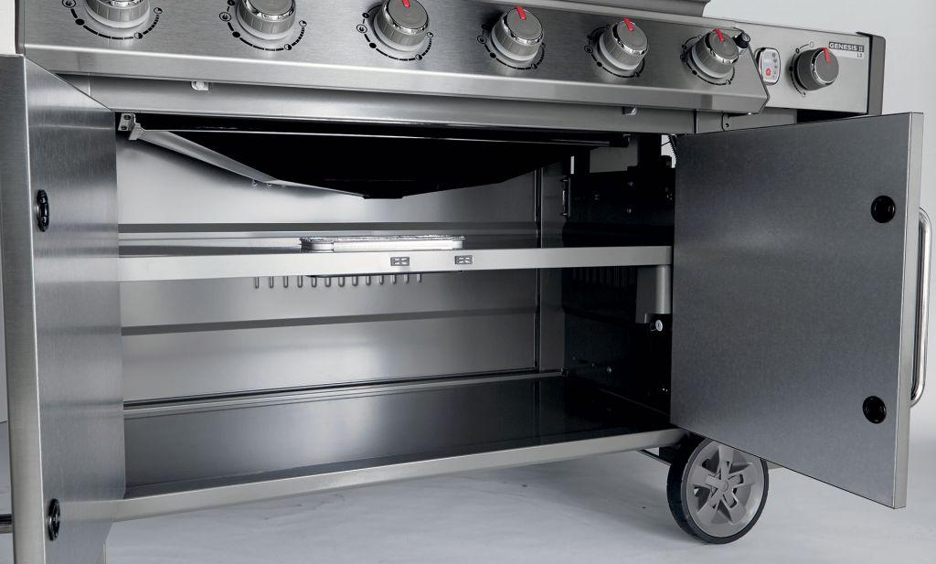 Weber Genesis II LX E-640 Gas Grill - Leisure Living