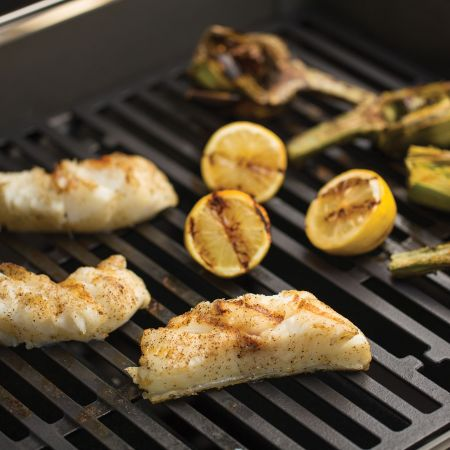 Grilling Fish And Veggies On The Weber Spirit S-210 GasGrill1