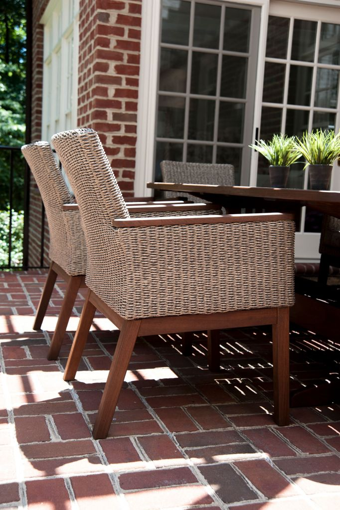Jensen Leisure Coral Dining Arm Chair Leisure Living