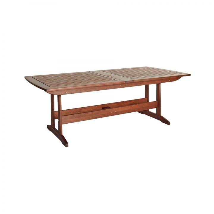 Jensen Leisure Richmond 85×41″ Rectangular Extension Dining Table