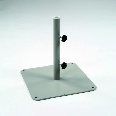 Kingsley Bate 2 Inch Pole Plate Steel Umbrella Base