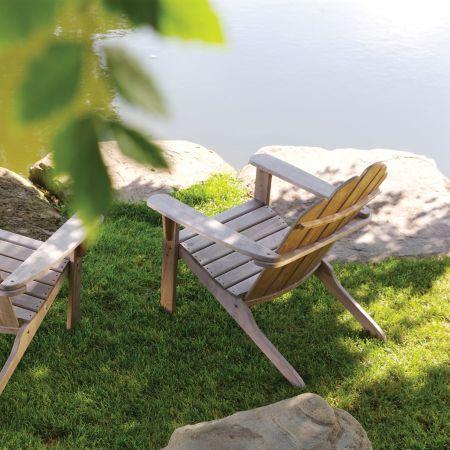 Kingsley Bate Adirondack Chair Back View