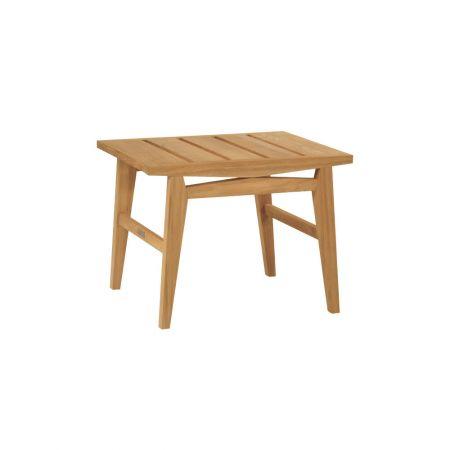 Kingsley Bate Algarve 25X22 Inch Rectangular Side Table