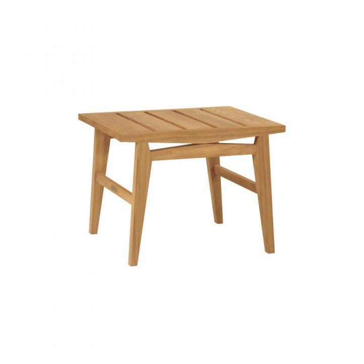 Kingsley Bate Algarve 25X22″ Rectangular Side Table