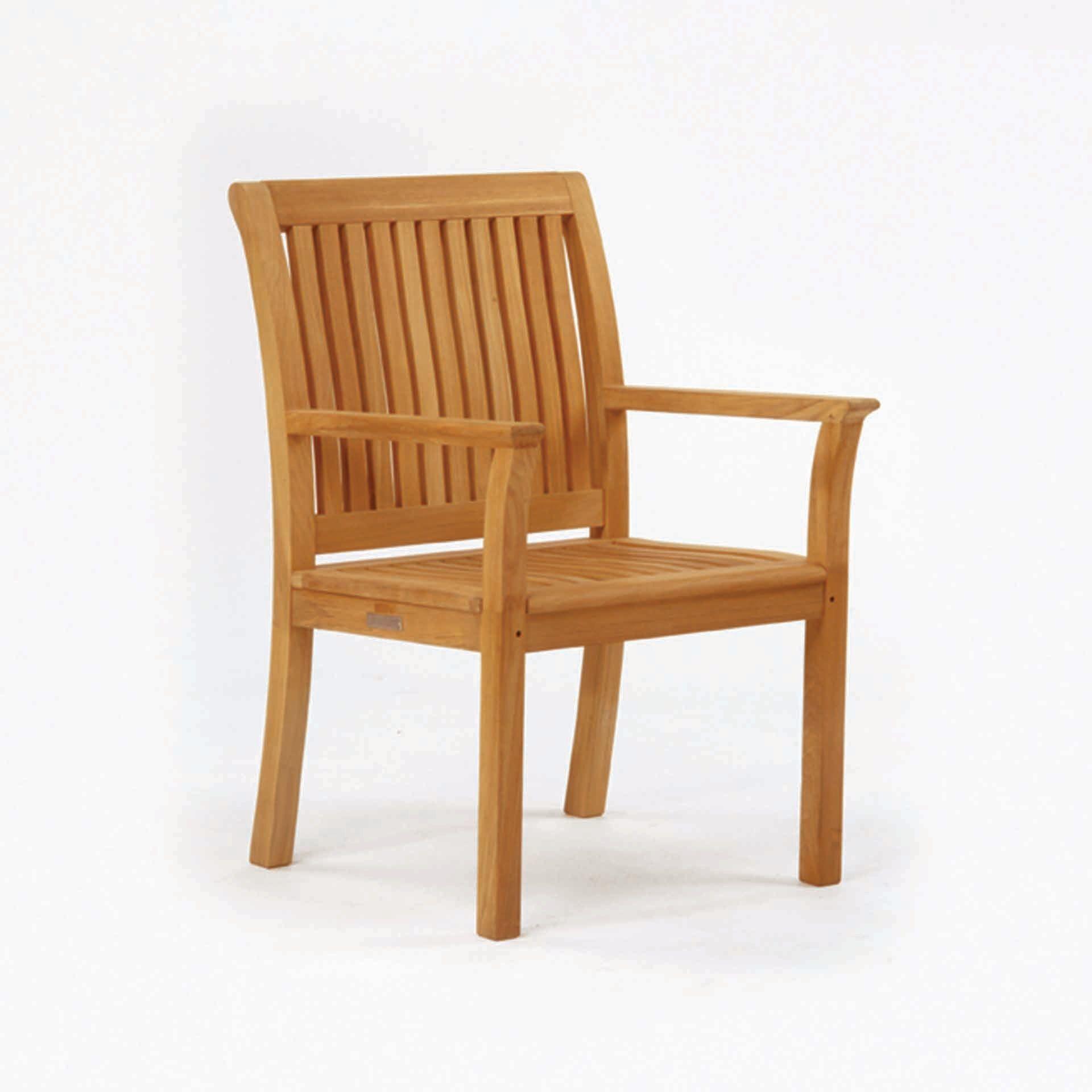 Kingsley Bate Chelsea Dining Arm Chair Leisure Living