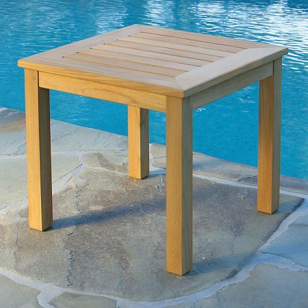 Kingsley Bate Classic 20 Square Side Table-2