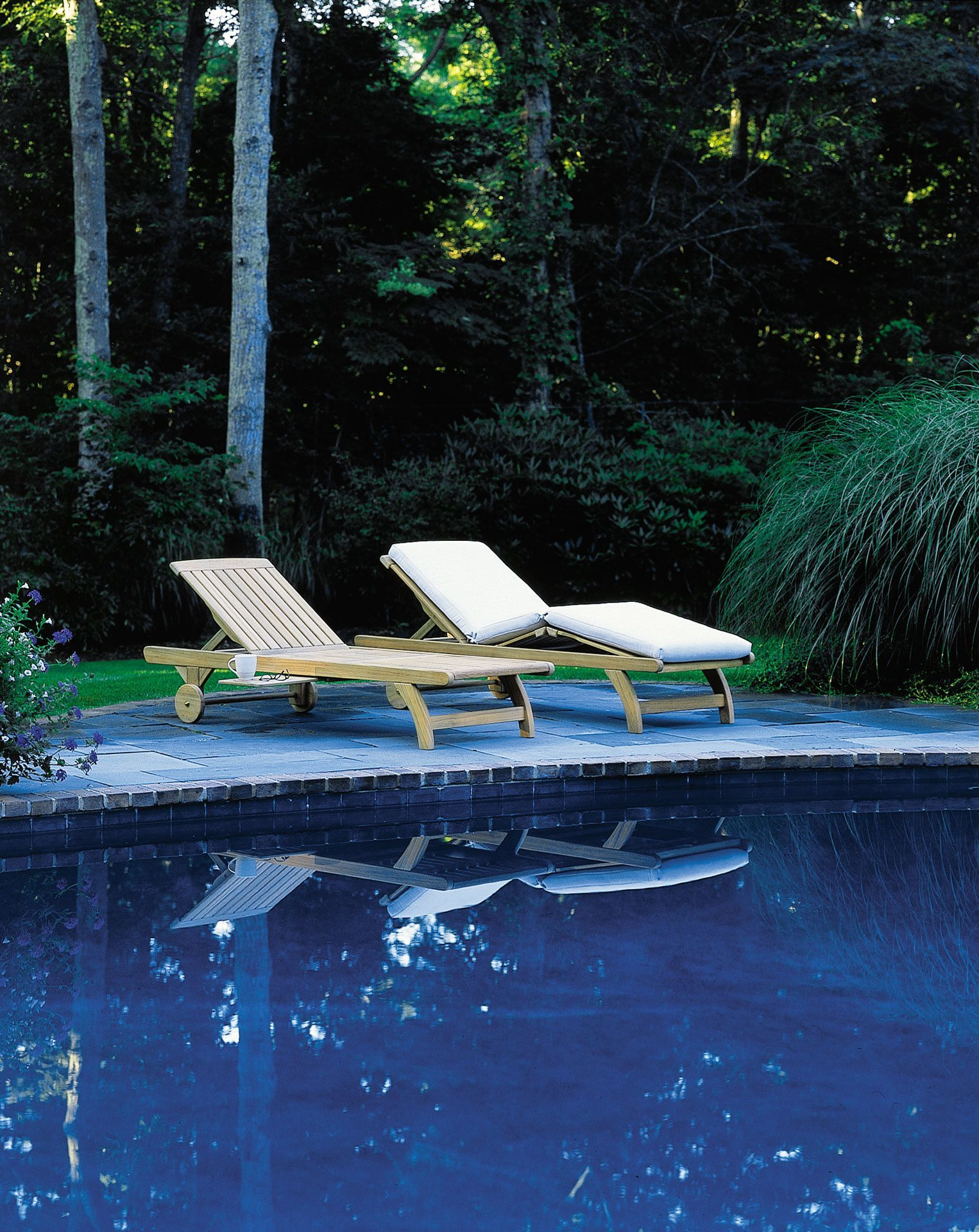 Kingsley Bate Classic Chaise Lounge 3 Leisure Living