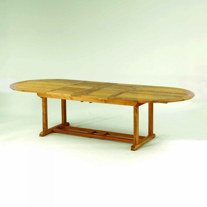 Kingsley Bate Essex 114″ Oval Extension Dining Table
