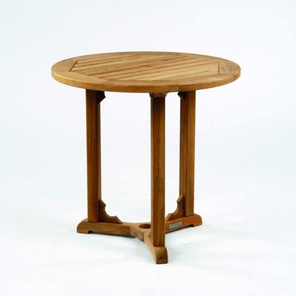 Kingsley Bate Essex 30 Round Dining Table ...