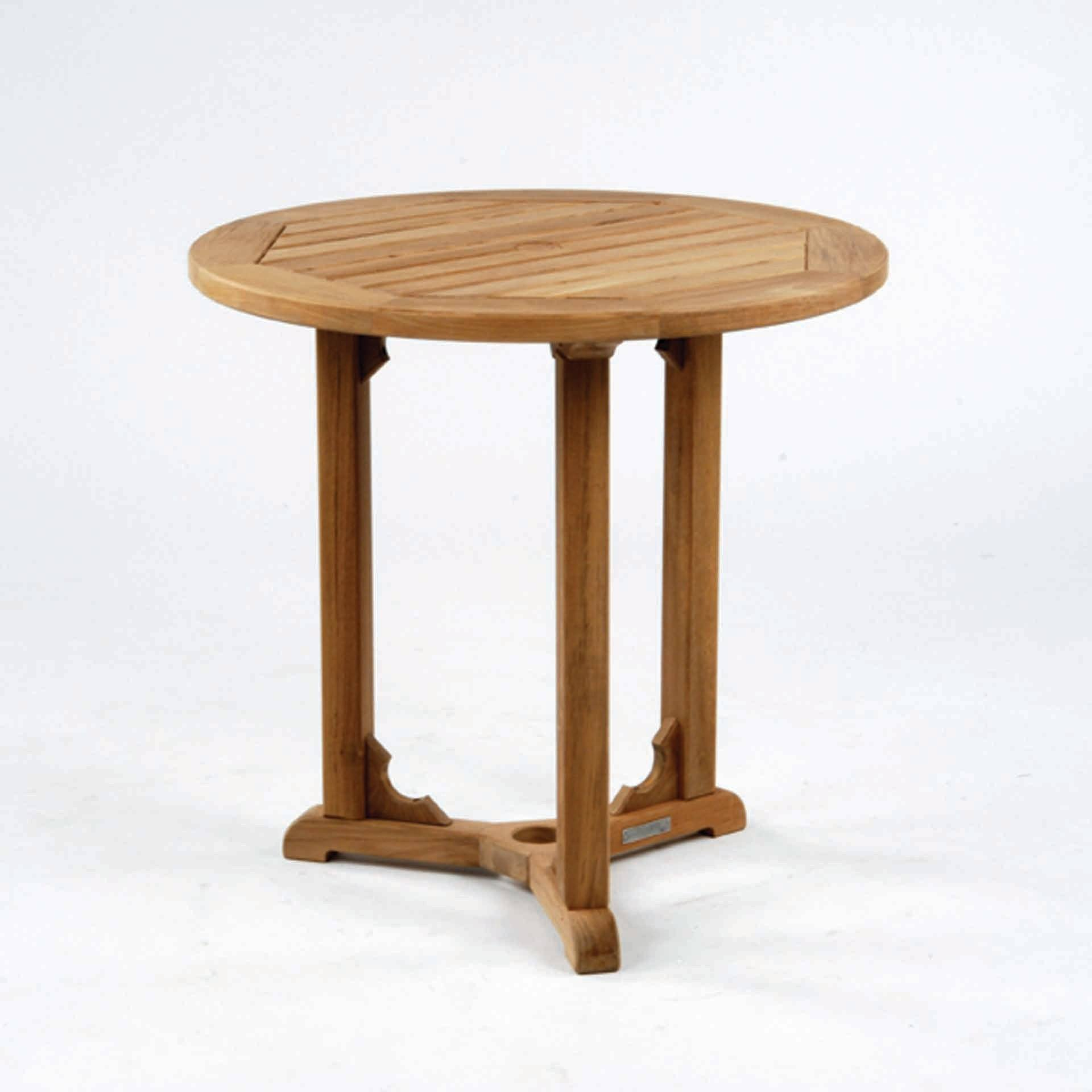 Kingsley Bate Essex 30 Round Dining Table Leisure Living