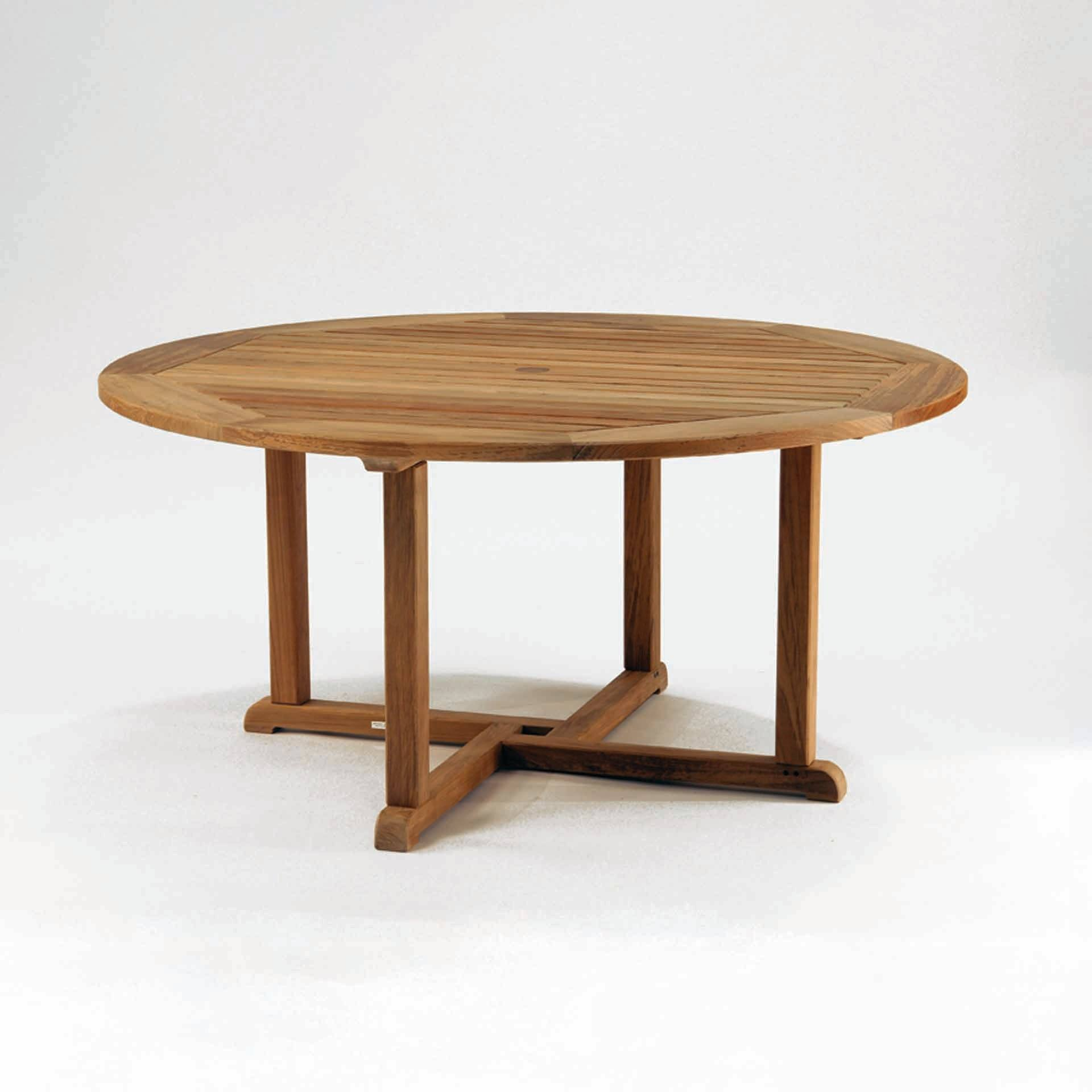 Kingsley Bate Essex 60 Quot Round Dining Table Leisure Living