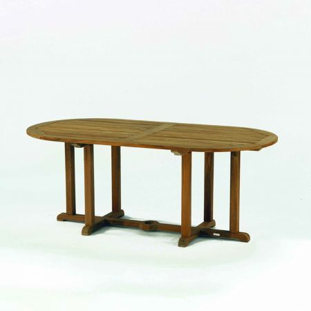 Kingsley Bate Essex 72 Oval Dining Table