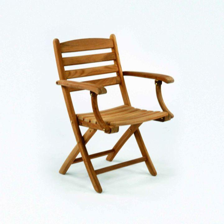 Kingsley Bate Gearheart Folding Arm Chair