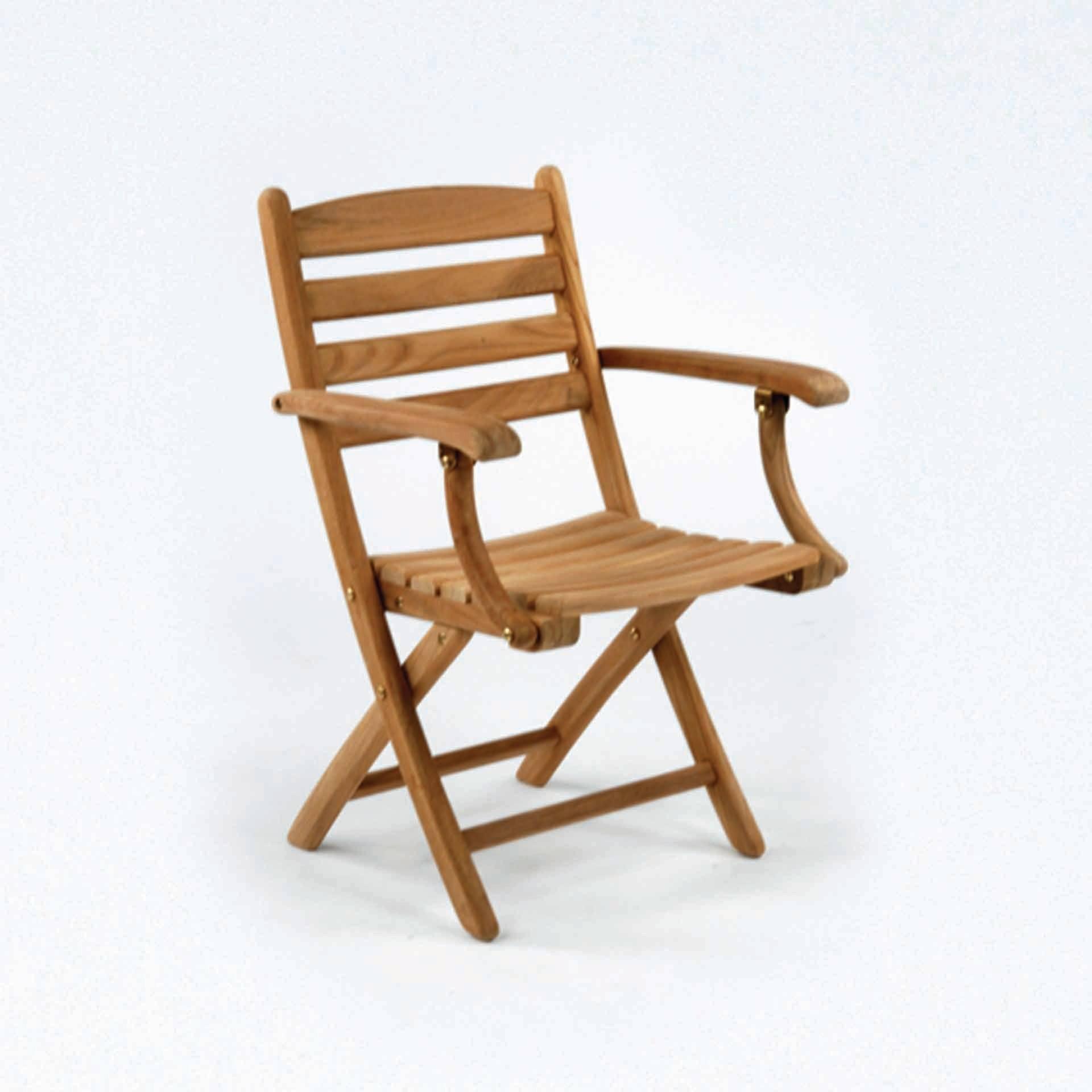 Kingsley Bate Gearheart Folding Arm Chair Leisure Living