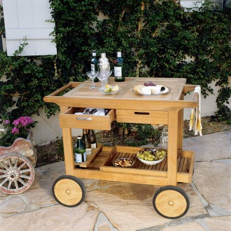 Kingsley Bate Serving Cart-2