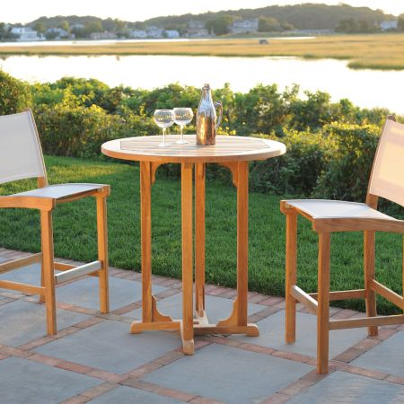 Kingsley Bate St.Tropez Bar Chairs Shown With A 30