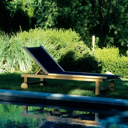 Kingsley Bate St.Tropez Chaise Poolside