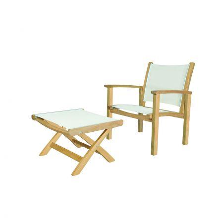 Kingsley Bate St.Tropez Club Chair And Club Ottoman