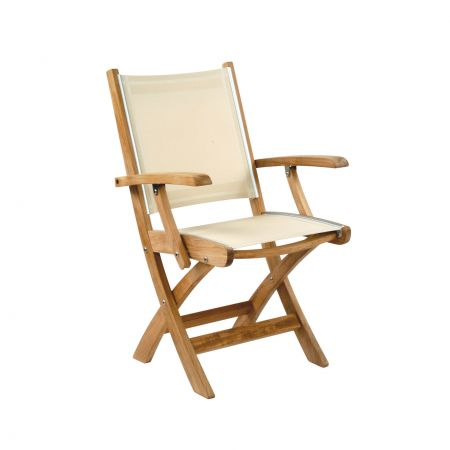 Kingsley Bate St.Tropez Folding Arm ChairKingsley Bate St.Tropez Folding Arm Chair