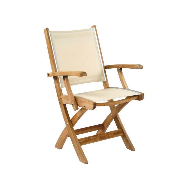 Kingsley Bate St.Tropez Folding Arm Chair