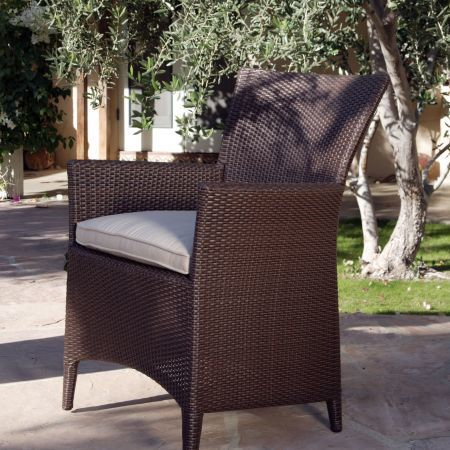Kingsley Bate Vieques Dining Arm Chair-2
