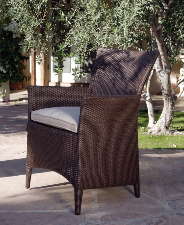 Kingsley Bate Vieques Dining Arm Chair