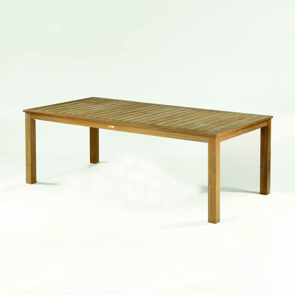 Kingsley bate wainscott 85x45 rectangular dining table for Table 85 address