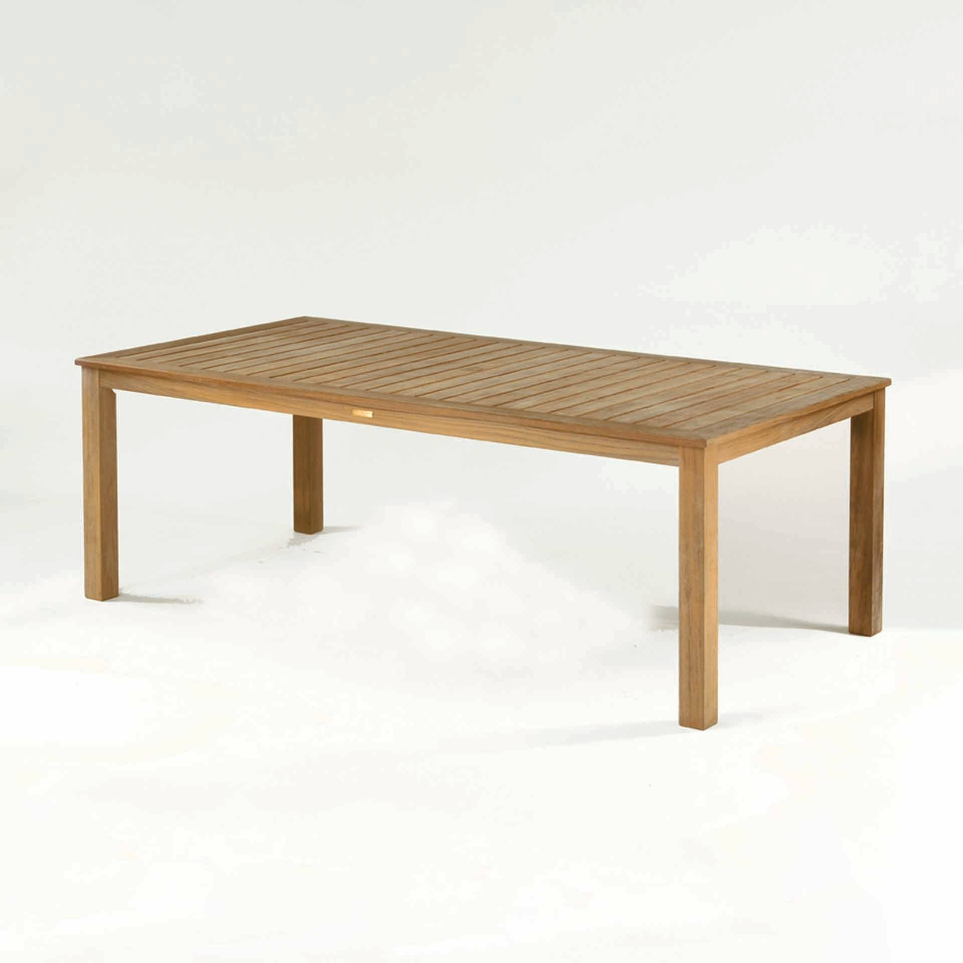 Kingsley bate wainscott 85x45 rectangular dining table for Table 85 restaurant