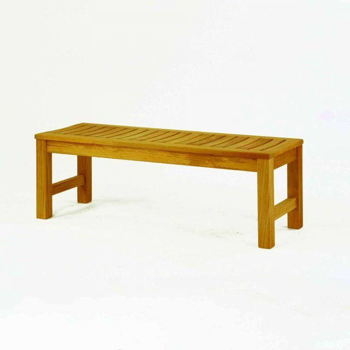 Kingsley Bate Waverley 4' Backless Bench