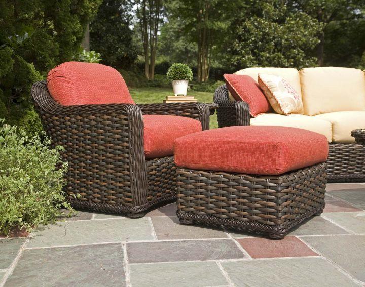 Lane South Hampton Ottoman With Swivel Club Chair