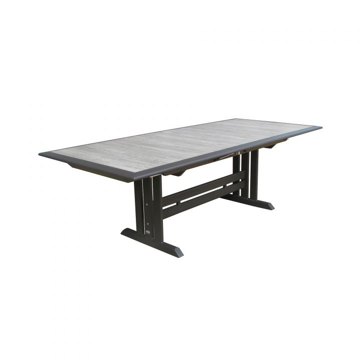 Les Jardins Hegoa 125X41″ Rectangular Extension Dining Table