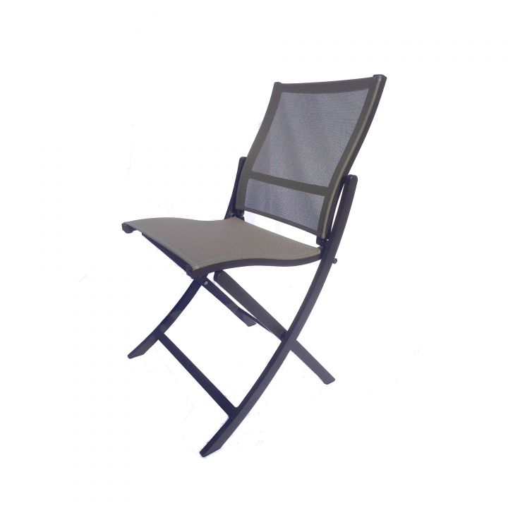 Les Jardins Teaser Brown Folding Side Chair - Les Jardins Teaser Brown Folding Side Chair - Leisure Living
